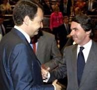 Zapatero yAznar