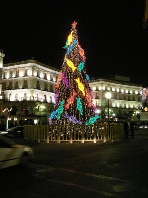 Arbol de Navidad enMadrid