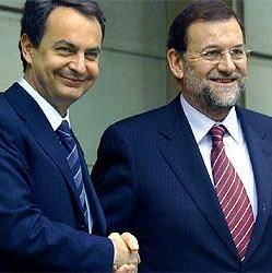 Zapatero yRajoy