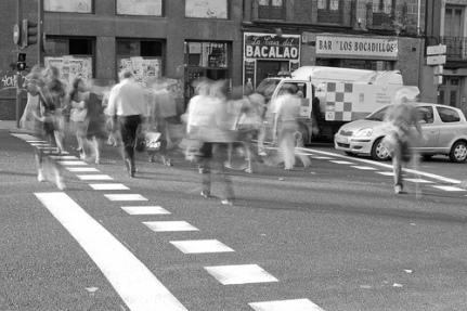 Peatones porMadrid