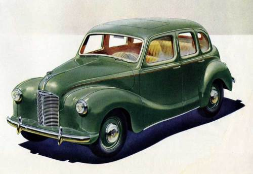 ...Y de un Austin del año 1950 como este salio la chiquilla que muchos años después le mandó al bloguero un bonsai