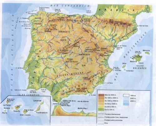 Uno se pregunta cuántos veranos le harían falta para conocer, aunque sólo fuera muy por  encima, todo lo que ofrece el mapa de España...