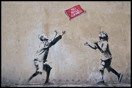 Si al menos los grafiteros de tu barrio tuvieran la gracia de Banksy...