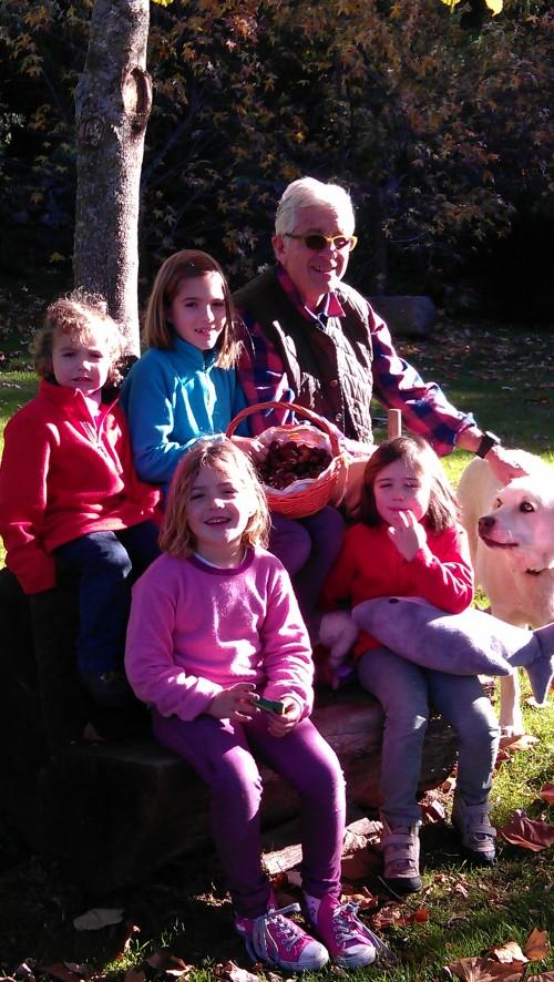 Castañas y nietas