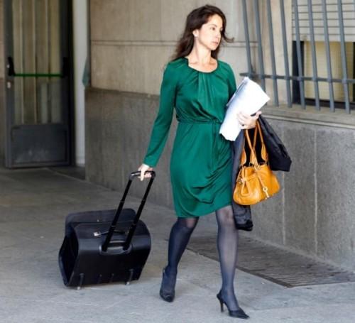 El ujier del juzgado pensaba que la Jueza Alaya siempre aparecía con su maleta porque quería escapar...