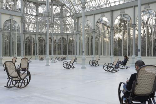 La idea de Splendide Hotel puede ser original, pero ver el otoño desde el interior del Palacio de Cristal es incluso más gratificante...