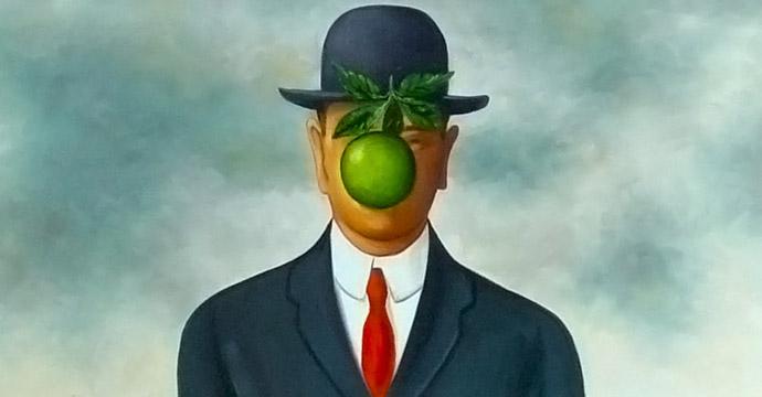 Corbata de Magritte