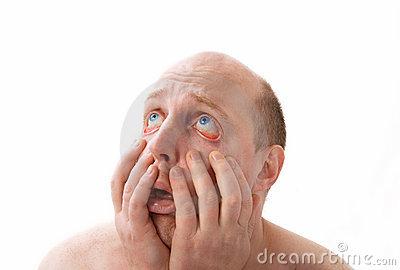Homper se ha quedado perplejo al comprobar que también puede desesperar uno por naderías que nos comlican la vida... (Imagen prestada de la web www. dreamstime.com)